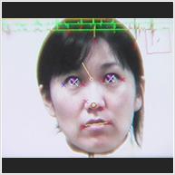 単眼非装着視線計測技術のイメージ