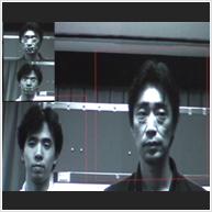 複数人同時視線計測技術のイメージ
