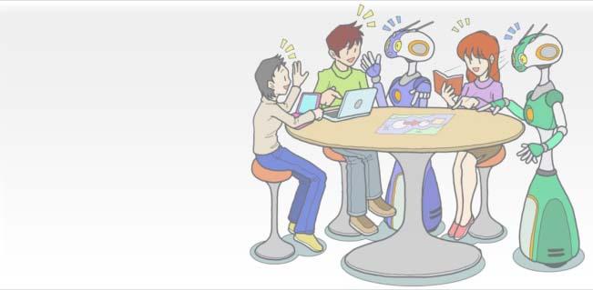 人ロボット共生学